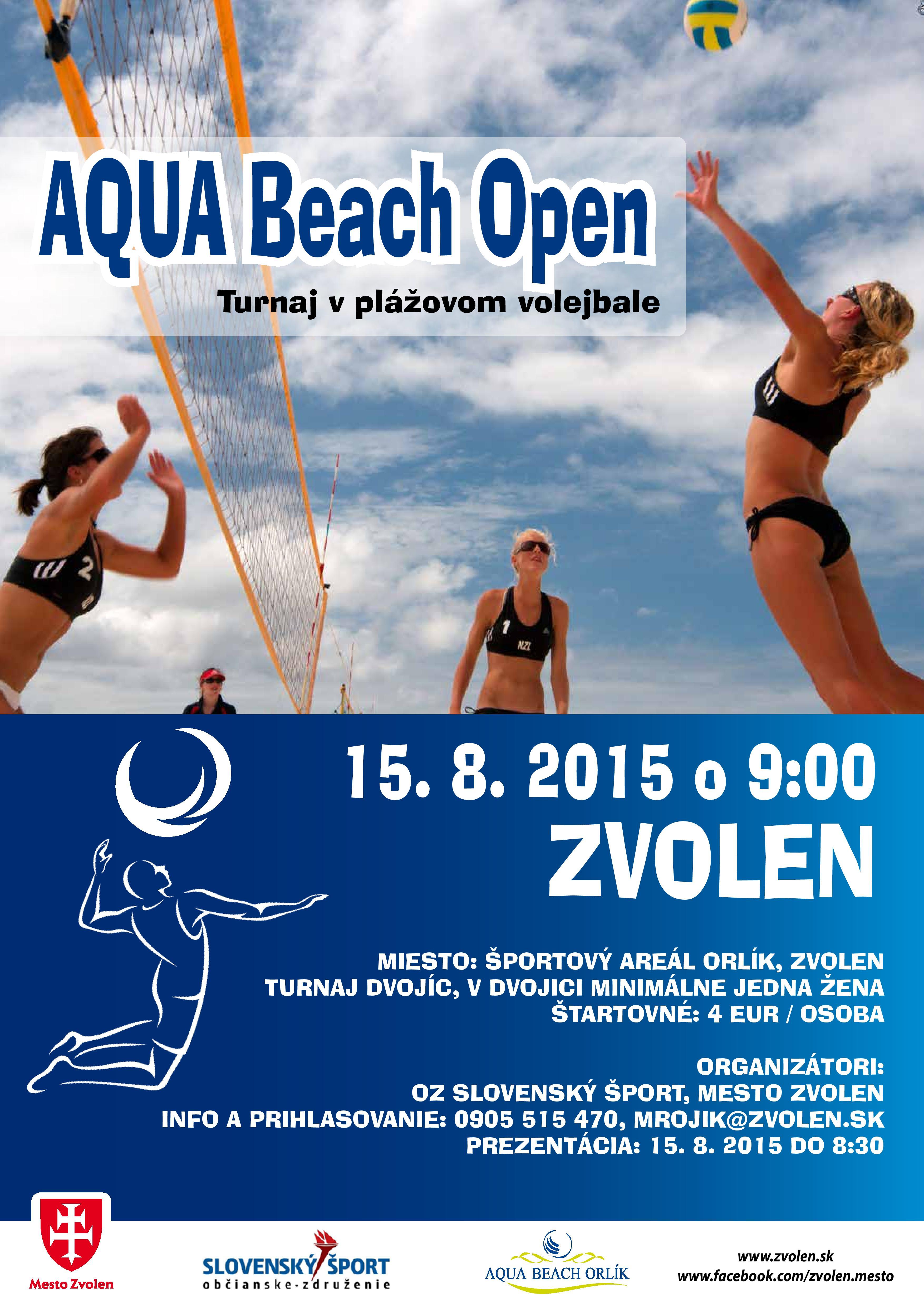 turnaj v plážovom volejbale v rámci Dňa sídliska Sekier
