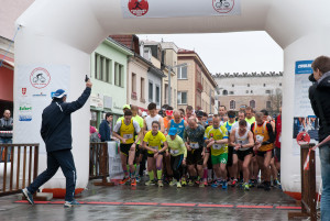 Zvolenská corrida na štarte