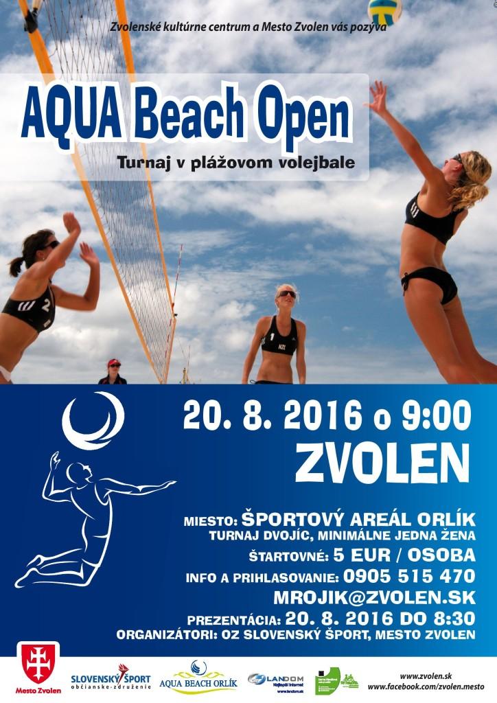 AQUA Beach Open 2016