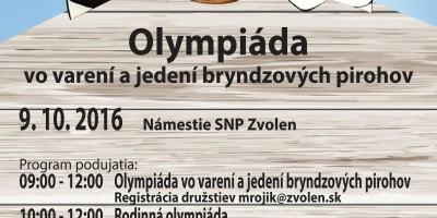 Olympiada vo vareni Bryndzových pirohov