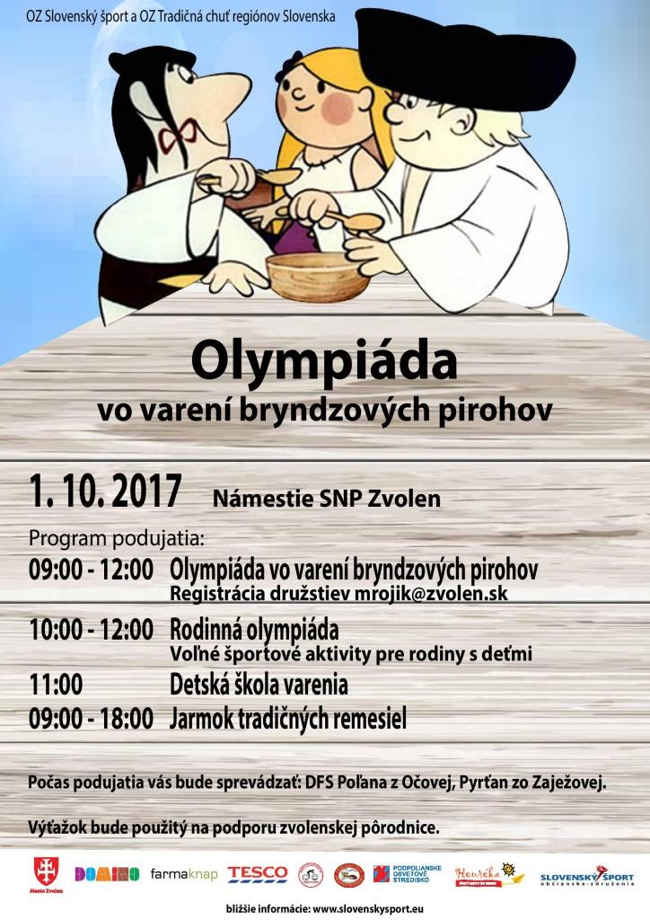 Olympiáda vo varení pirohov 2017