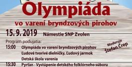 Olympiáda vo Varení bryndzových pirohov
